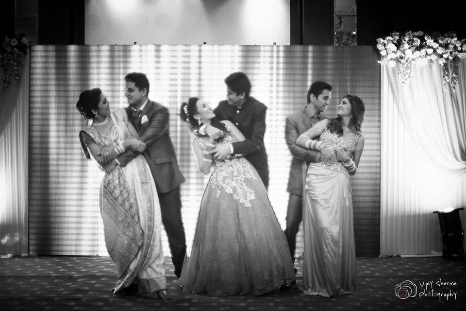 Couples on the Floor! by Vijay Sharma Wedding-photography | Weddings Photos & Ideas