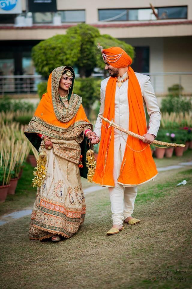 The Royal Couple On Their Special Day! by Vijay Sharma Wedding-photography Wedding-dresses | Weddings Photos & Ideas