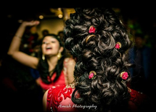 Hairdo Of The Bride by Amish Photography Wedding-photography | Weddings Photos & Ideas