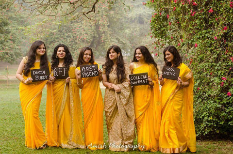 Glowing bridesmaids by Amish Photography Wedding-photography | Weddings Photos & Ideas