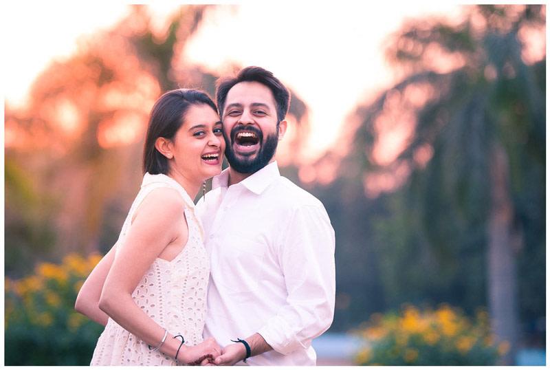 A Happy Couple On Their Pre Wedding Shoot by Arjun Kartha Wedding-photography | Weddings Photos & Ideas