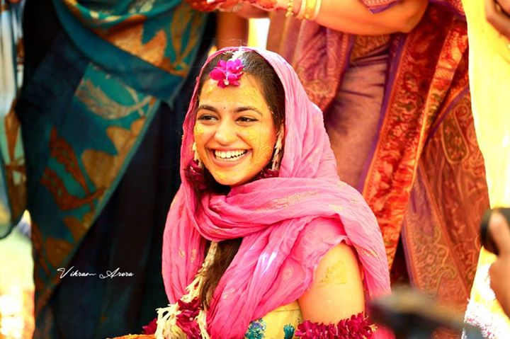 Joyful Bride-to-be On Haldi Day by Vikram Arora Wedding-photography | Weddings Photos & Ideas