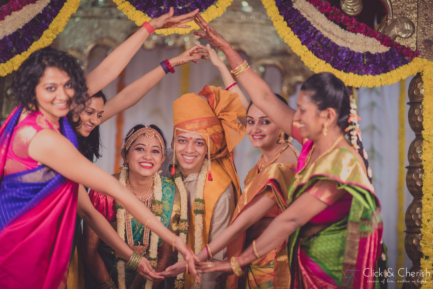 Cheerful Moments With Family by Dushyantha Kumar C Wedding-photography | Weddings Photos & Ideas