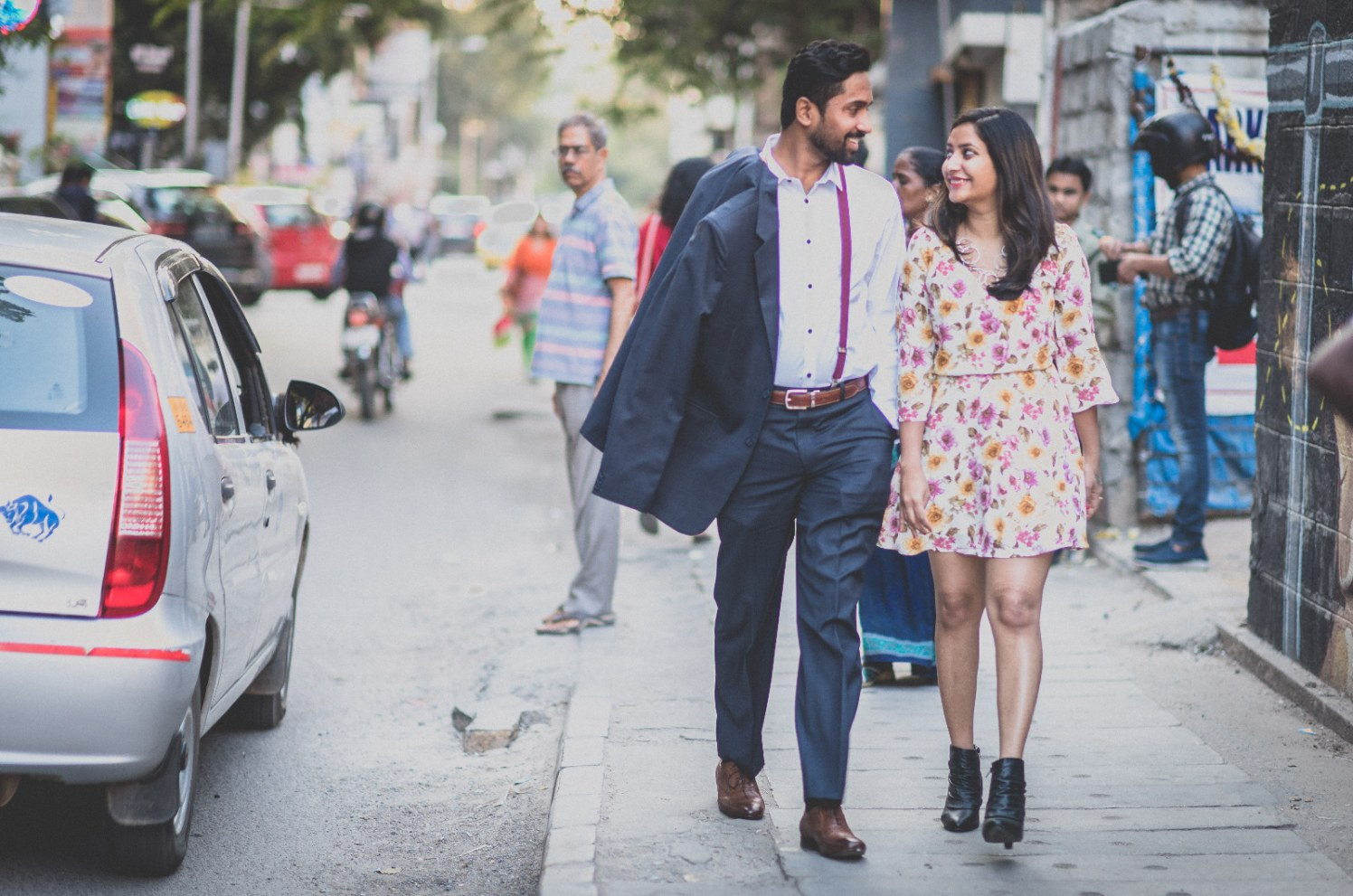 Vogue Street Pre Wedding Shoot by Dushyantha Kumar C Wedding-photography | Weddings Photos & Ideas