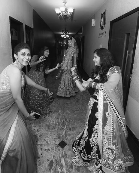Bride With The Bridesmaid by Arjun Mahajan Wedding-photography | Weddings Photos & Ideas