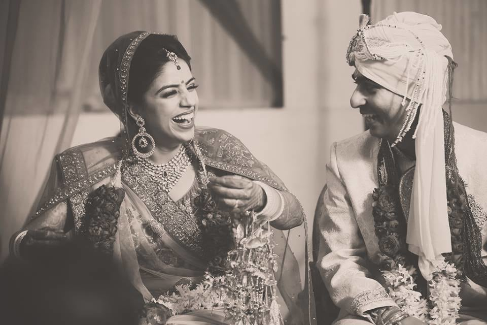 Candid Moment Of The Couple! by Arjun Mahajan Wedding-photography Bridal-jewellery-and-accessories Groom-wear-and-accessories | Weddings Photos & Ideas