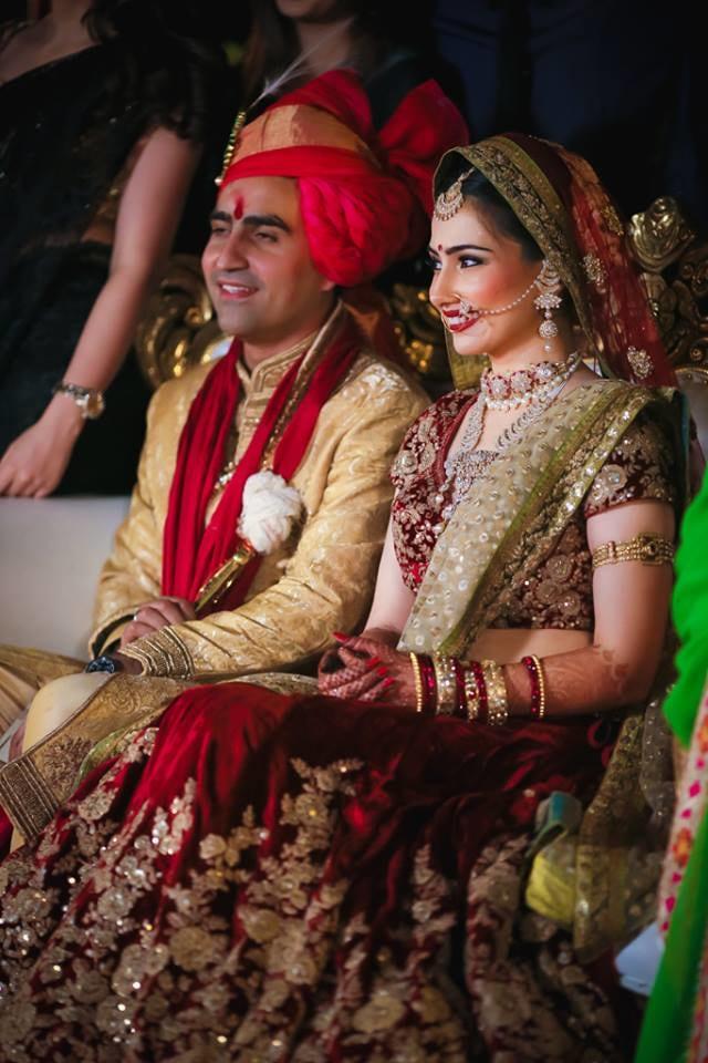Classic Couple On Wedding Day! by Arjun Mahajan Wedding-photography Bridal-jewellery-and-accessories Groom-wear-and-accessories | Weddings Photos & Ideas