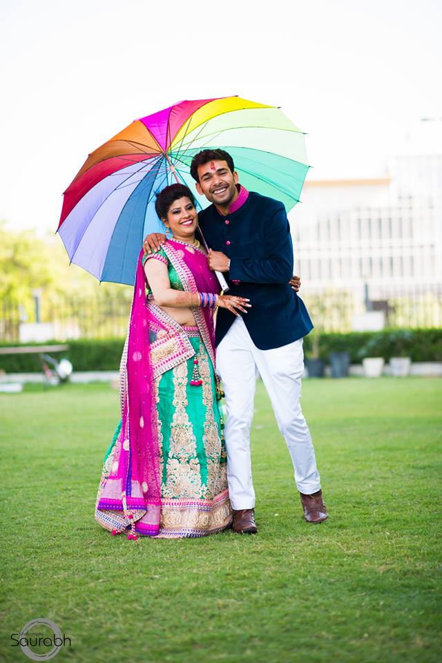 Vibrant Duo On Sangeet Day! by Saurabh Wedding-photography Wedding-dresses | Weddings Photos & Ideas