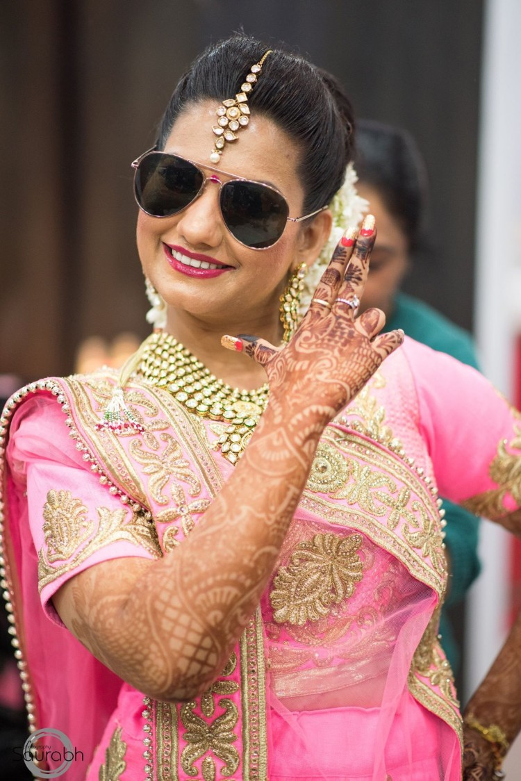 Beauteous Charisma Of The Bride! by Saurabh Wedding-photography Bridal-makeup Bridal-jewellery-and-accessories | Weddings Photos & Ideas
