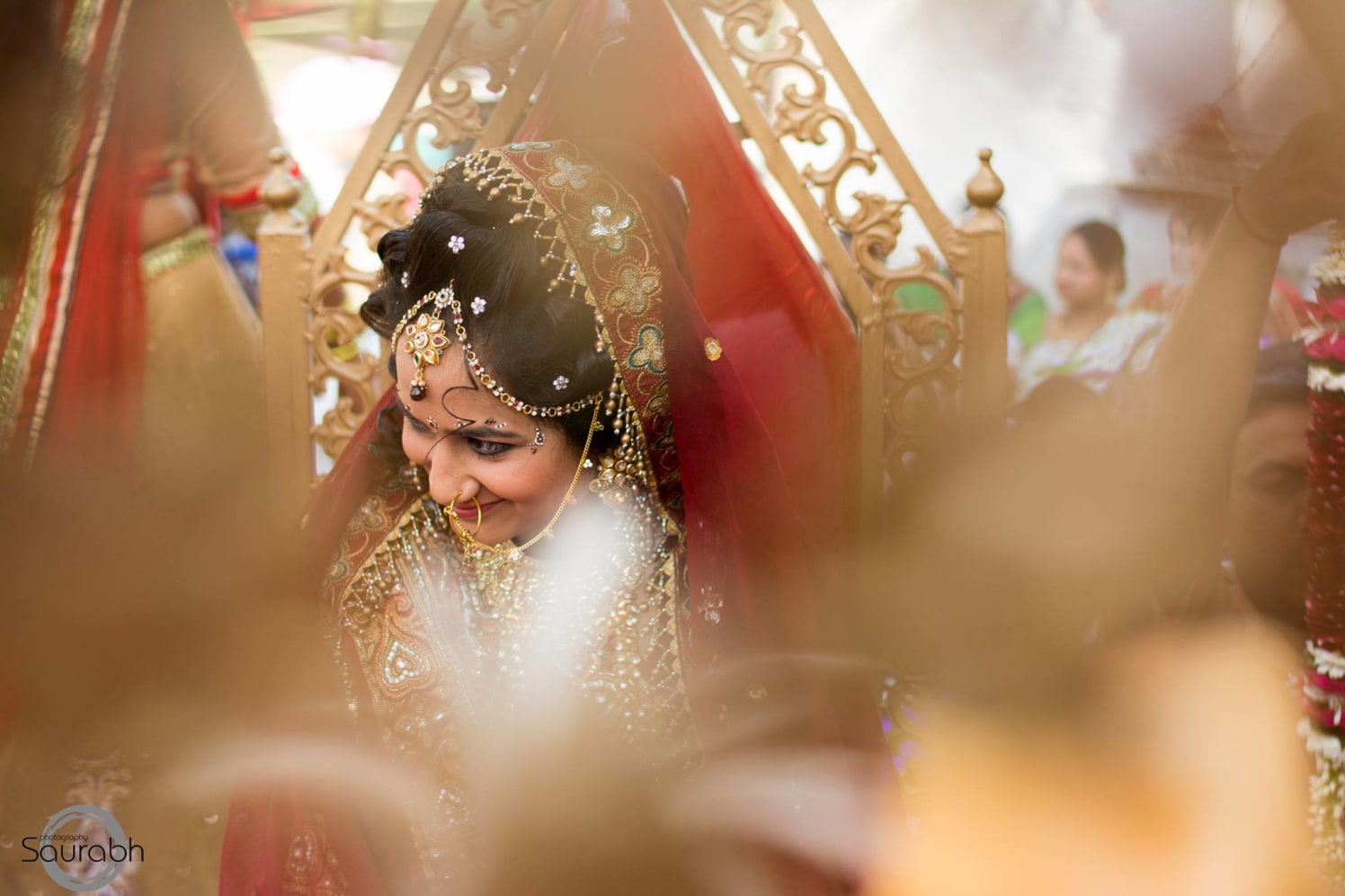 Magnificent Sight! by Saurabh Wedding-photography Bridal-jewellery-and-accessories | Weddings Photos & Ideas