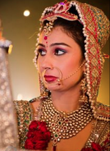 Ravishing Vision Of The Bride! by Saurabh Wedding-photography Bridal-makeup Bridal-jewellery-and-accessories | Weddings Photos & Ideas