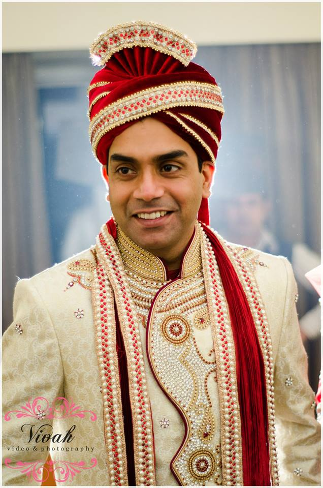 Dashing Groom On His Wedding Day! by Saurabh Wedding-photography Groom-wear-and-accessories | Weddings Photos & Ideas