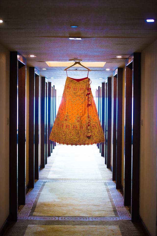 Stunning Yellow Bridal Lehenga! by Saurabh Wedding-photography Wedding-dresses | Weddings Photos & Ideas