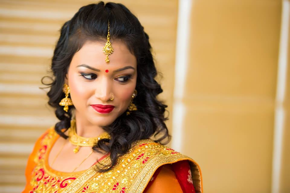 Refined Glance Of The Bride! by Saurabh Wedding-photography Bridal-jewellery-and-accessories Bridal-makeup | Weddings Photos & Ideas
