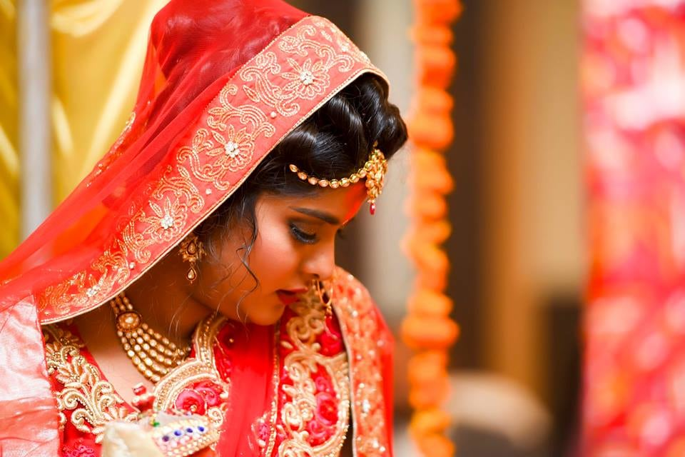 Bridal Portrait! by Saurabh Wedding-photography Bridal-jewellery-and-accessories | Weddings Photos & Ideas