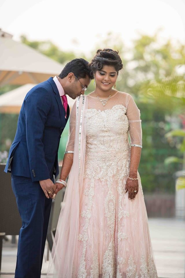 Spectacular Couple Portrait! by Saurabh Wedding-photography Groom-wear-and-accessories Wedding-dresses | Weddings Photos & Ideas