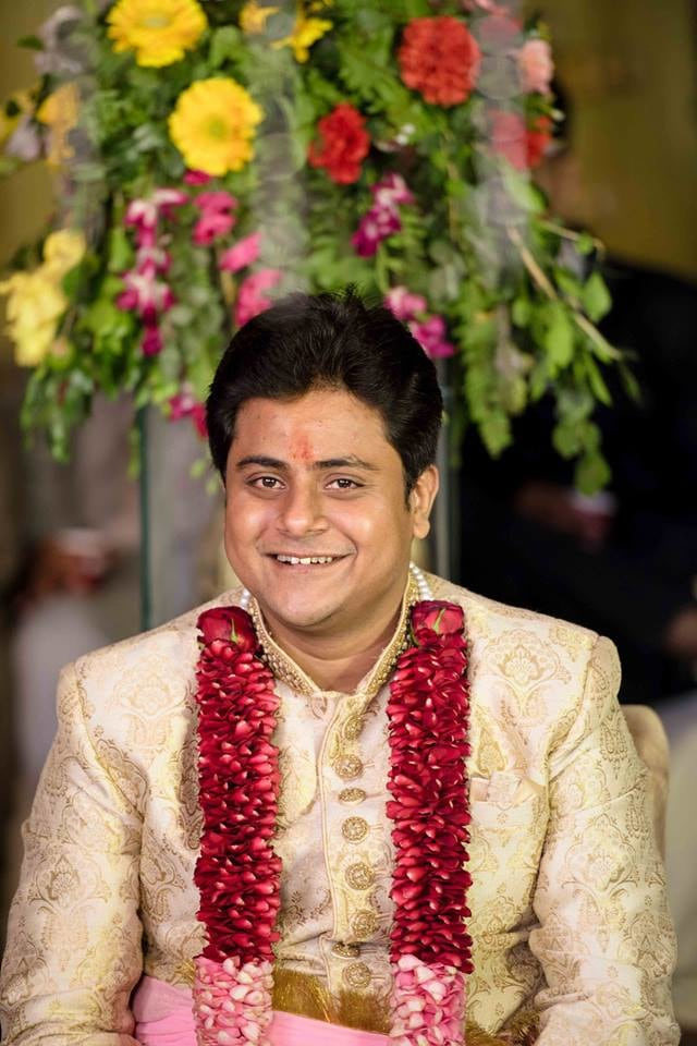 Happy Groom On His D-Day! by Saurabh Wedding-photography | Weddings Photos & Ideas