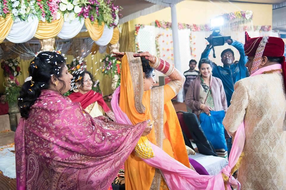 Bride Entering a New Life by Saurabh Wedding-photography | Weddings Photos & Ideas