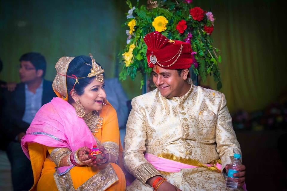 Dazzling Smiles Of The Couple! by Saurabh Wedding-photography Bridal-jewellery-and-accessories Groom-wear-and-accessories | Weddings Photos & Ideas