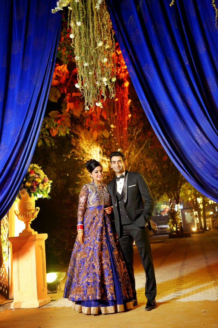 Stellar Couple Portrait by Rajan Parmar Wedding-photography Wedding-dresses Groom-wear-and-accessories | Weddings Photos & Ideas