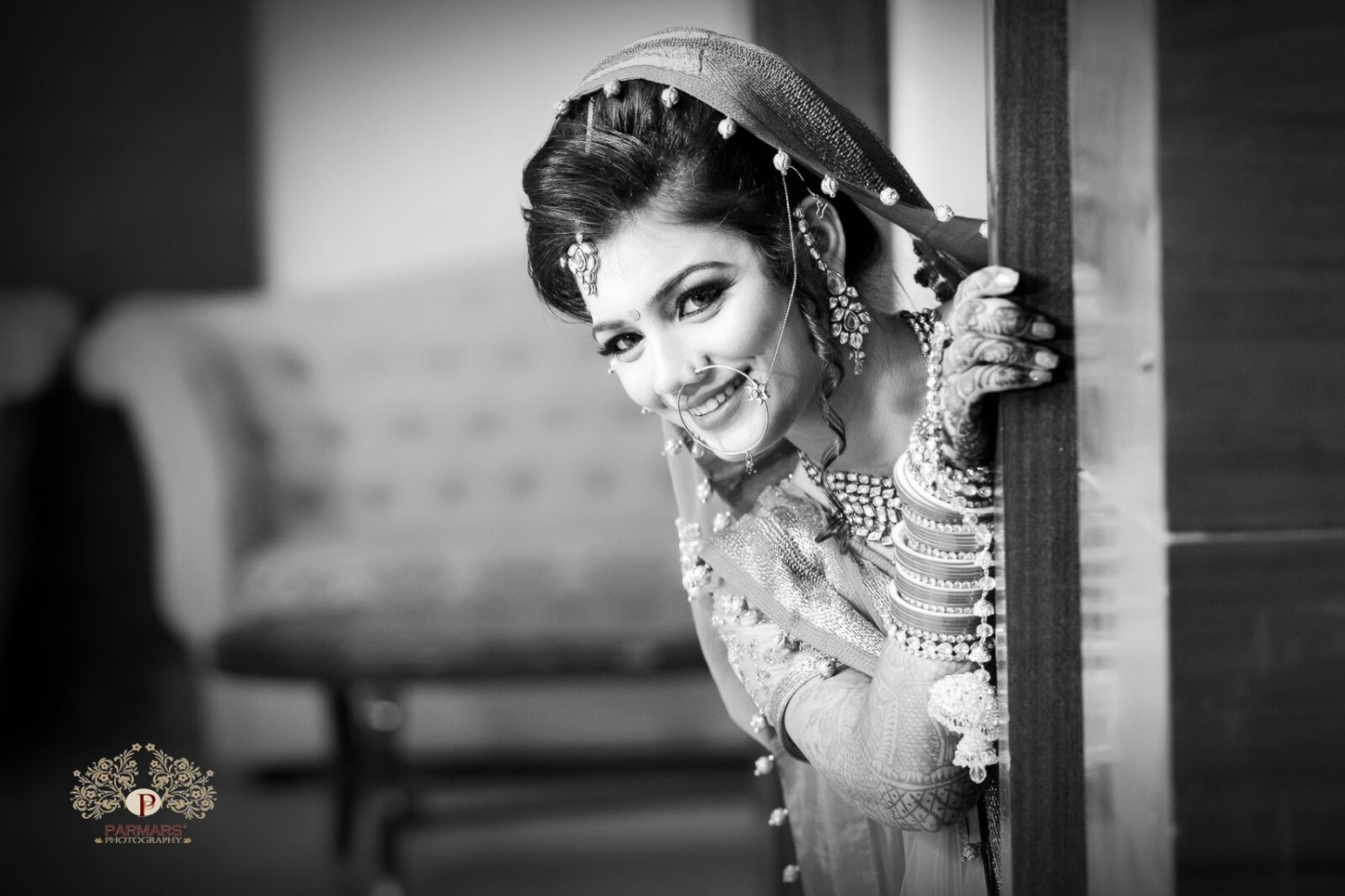 Beautiful Bride On Her D-Day! by Rajan Parmar Wedding-photography Bridal-jewellery-and-accessories | Weddings Photos & Ideas