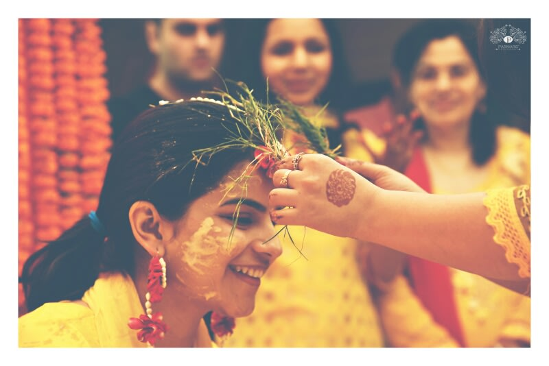 Blessings For The Bride-To-Be! by Rajan Parmar Wedding-photography | Weddings Photos & Ideas