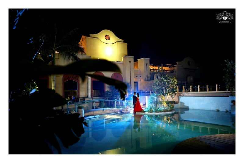 Pre Wedding Shoot By The Pool! by Rajan Parmar Wedding-photography | Weddings Photos & Ideas