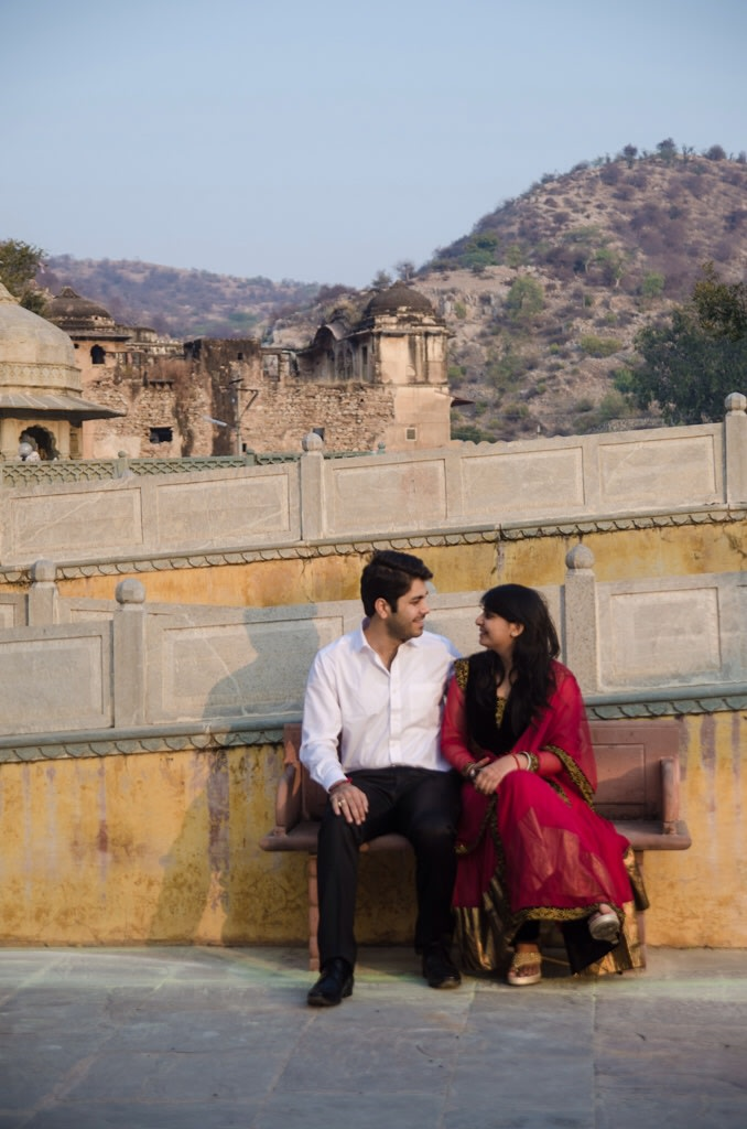Pre Wedding Shoot In Panoramic View! by Jai Rathore Wedding-photography | Weddings Photos & Ideas