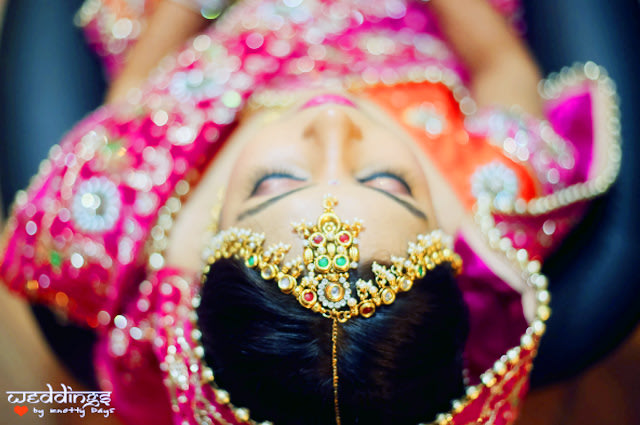 Bridal Mathapatti! by Weddings by Knotty Days Wedding-photography | Weddings Photos & Ideas