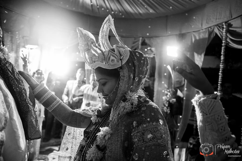 Black And White Shot by Priyam Malhotra Photography Wedding-photography | Weddings Photos & Ideas