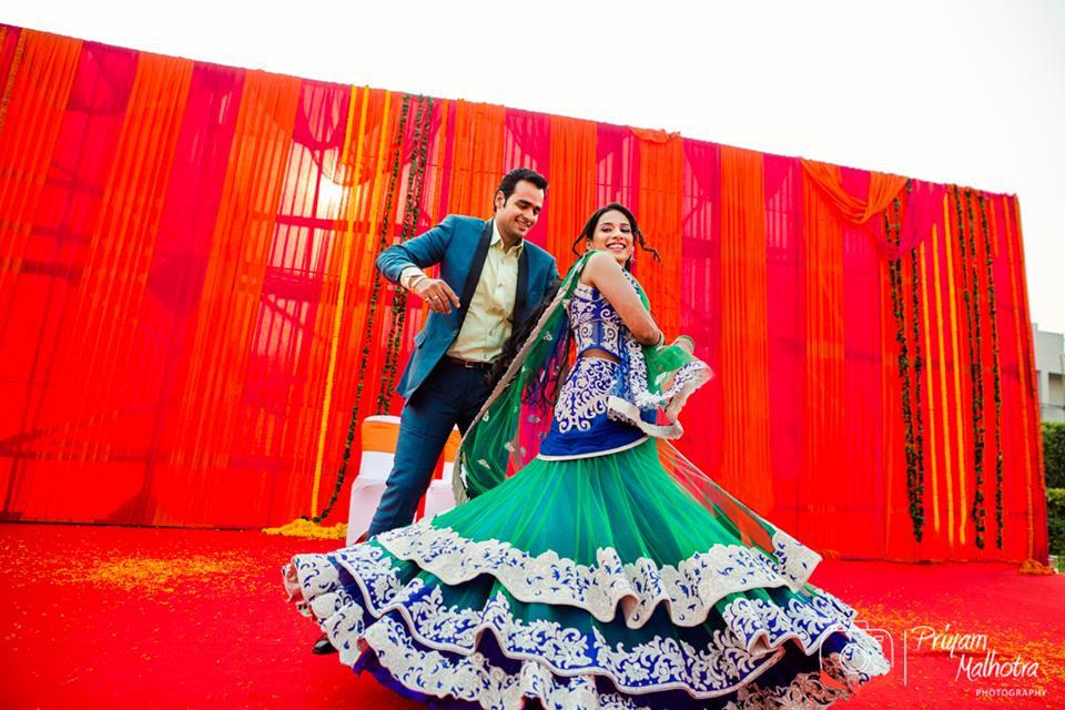 Twirling Couple by Priyam Malhotra Photography Wedding-photography | Weddings Photos & Ideas
