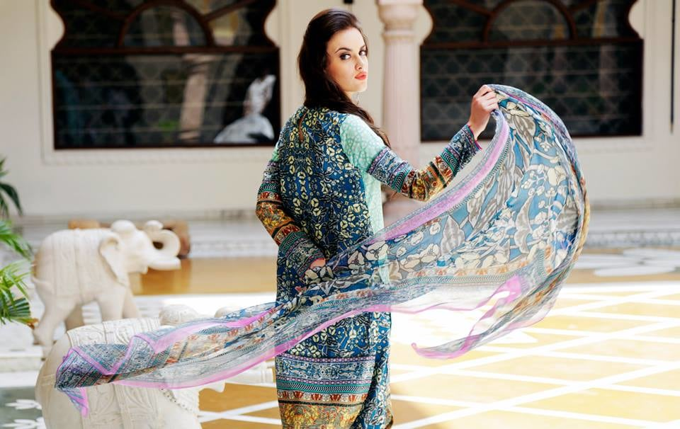 Floral Print Salwaar Kameez by Kunal Khanna Wedding-photography | Weddings Photos & Ideas