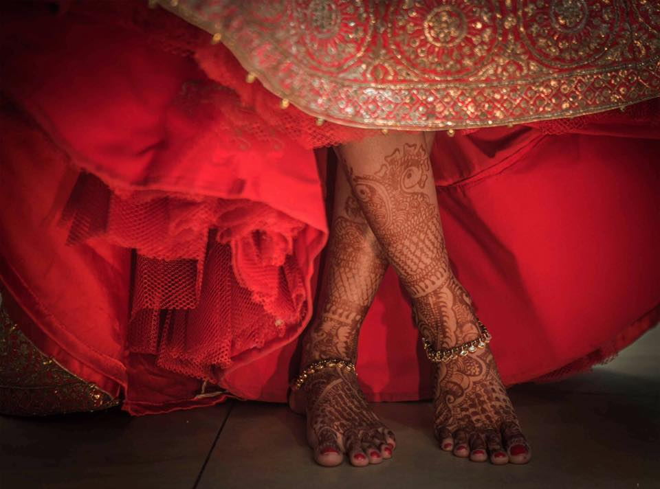 Henna Adorned Foot by Kunal Khanna Bridal-jewellery-and-accessories | Weddings Photos & Ideas