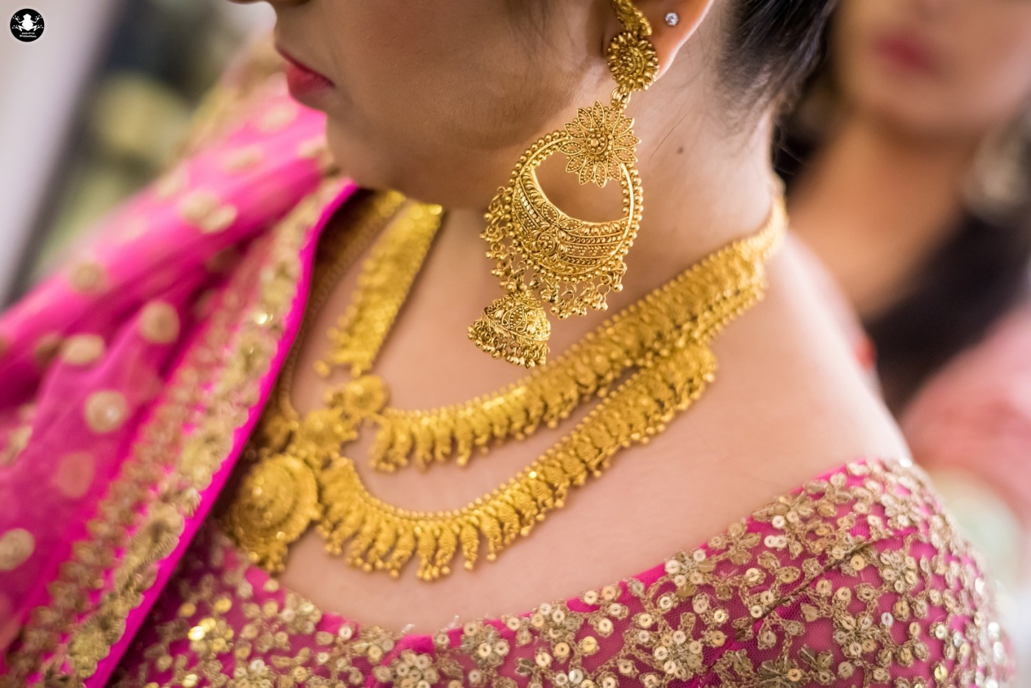 Gold Bridal Necklace by Kunal Khanna Bridal-jewellery-and-accessories | Weddings Photos & Ideas