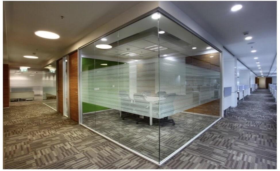Modern office cabin! by Setu Design Studio | Interior Design Photos & Ideas