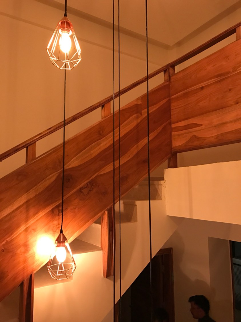 Wooden staircase! by Setu Design Studio