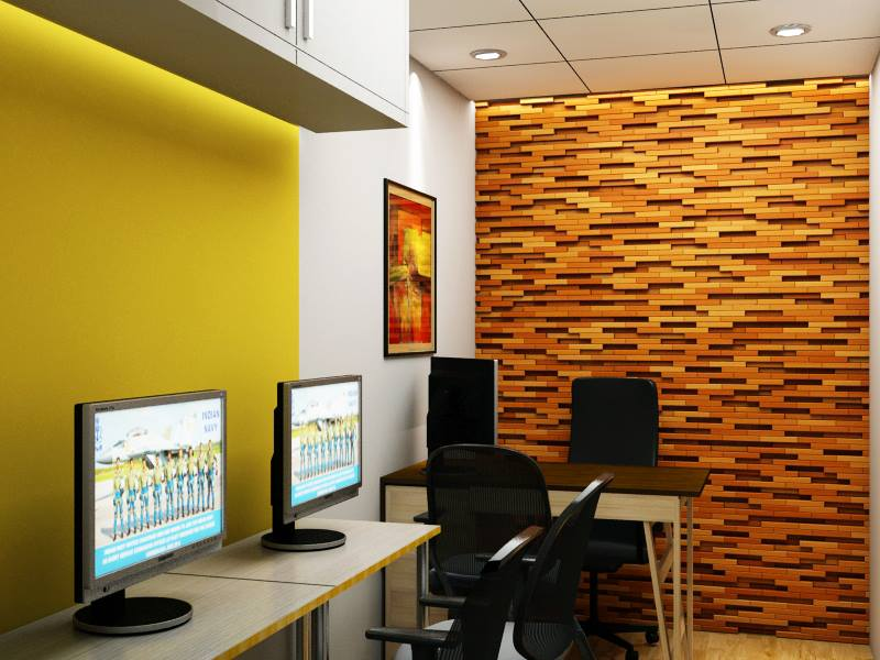 Paint me Yellow by Archilogues Design Studio Contemporary | Interior Design Photos & Ideas