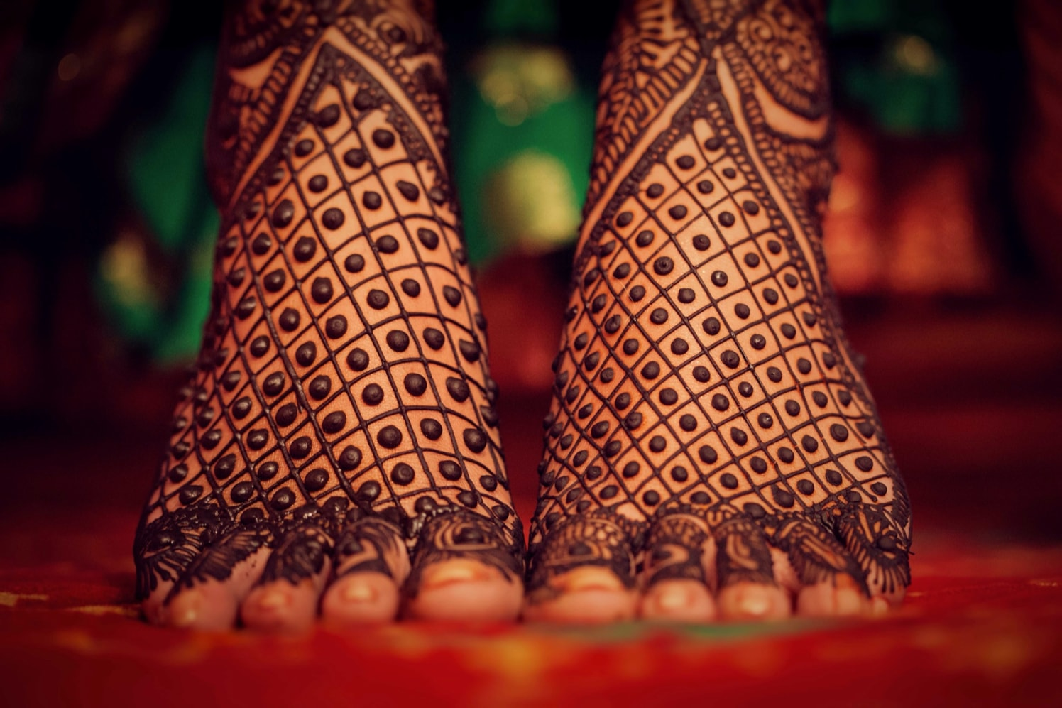 An intricate close up  Mehendi shot by Candid wedding Wedding-photography | Weddings Photos & Ideas