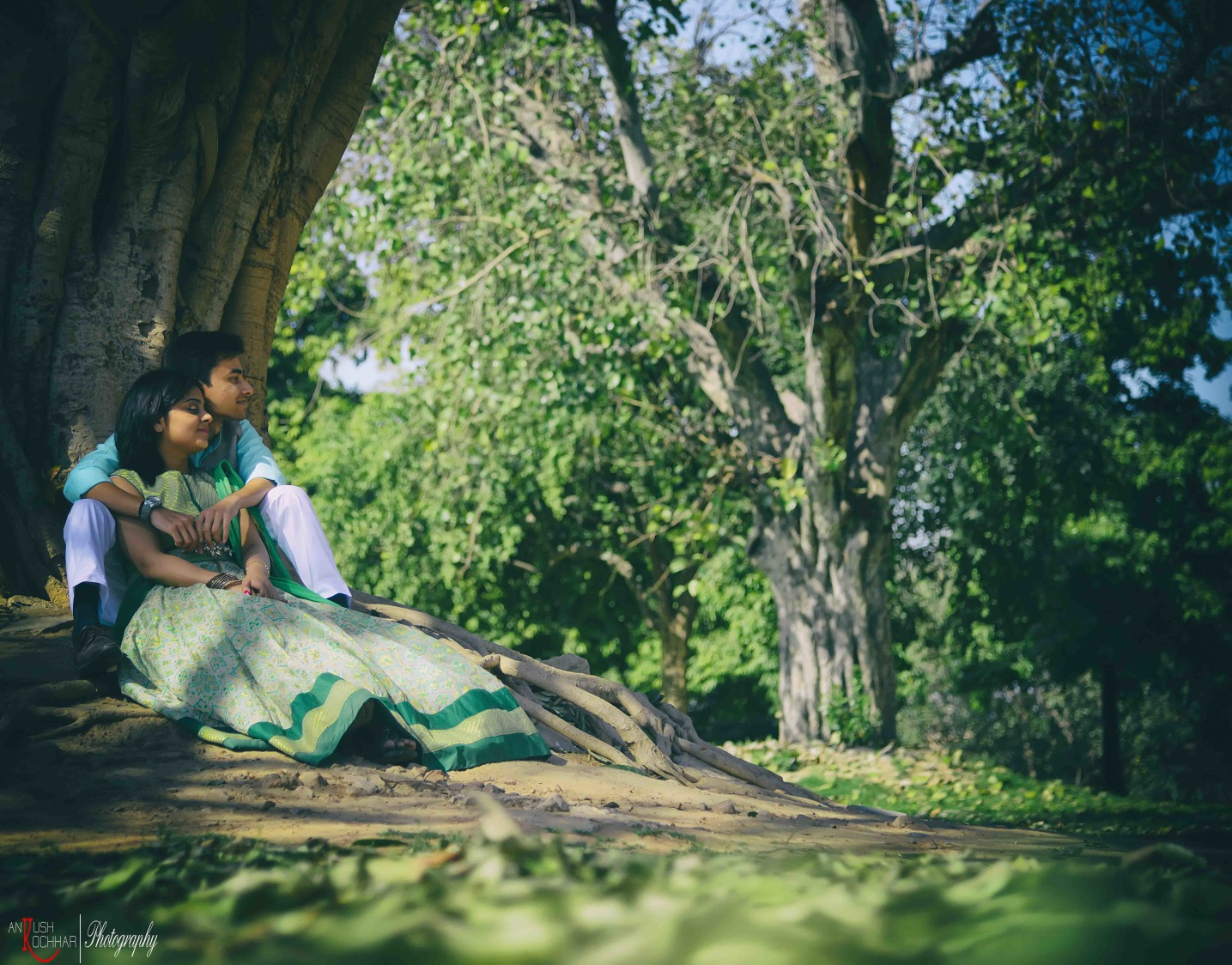 Forest Theme Pre-Wedding Shoot by AKfotography Wedding-photography | Weddings Photos & Ideas