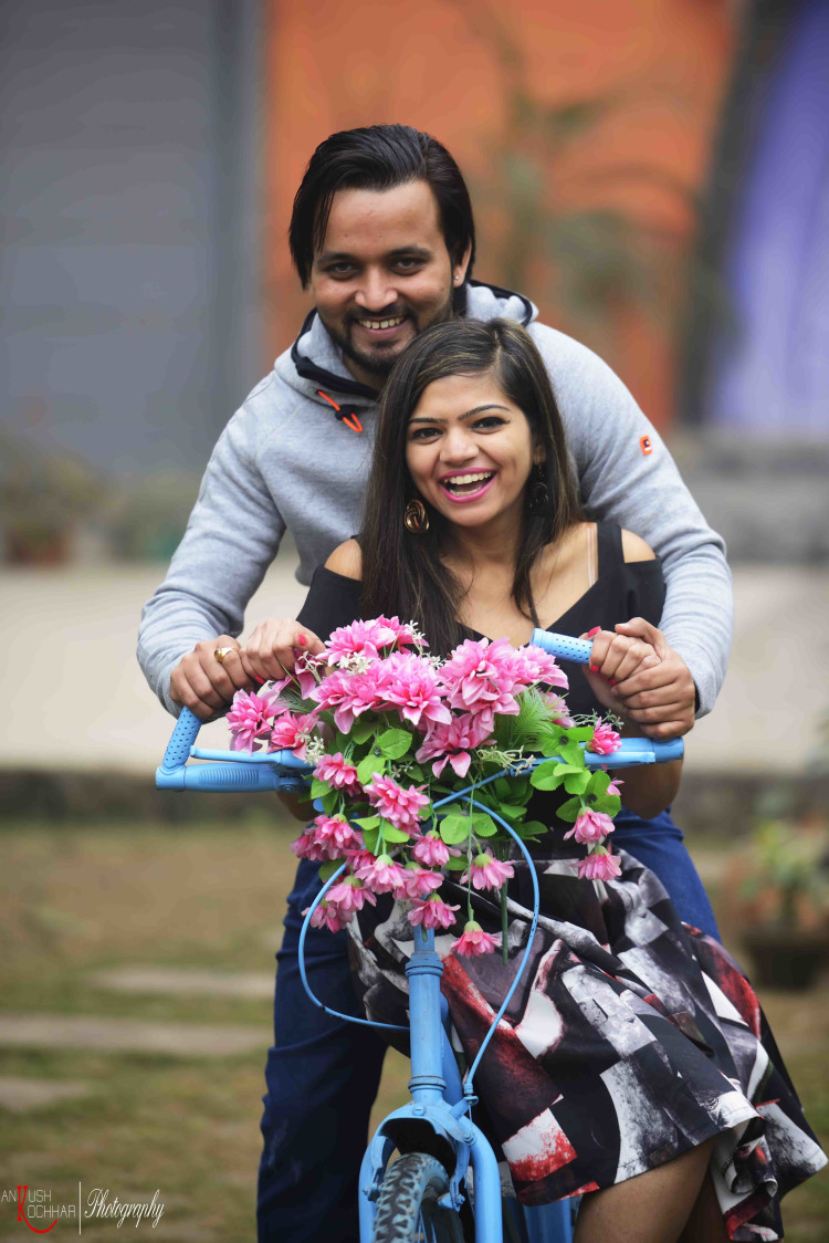 Pre-Wedding Shoot With Bicycle Prop by AKfotography Wedding-photography | Weddings Photos & Ideas