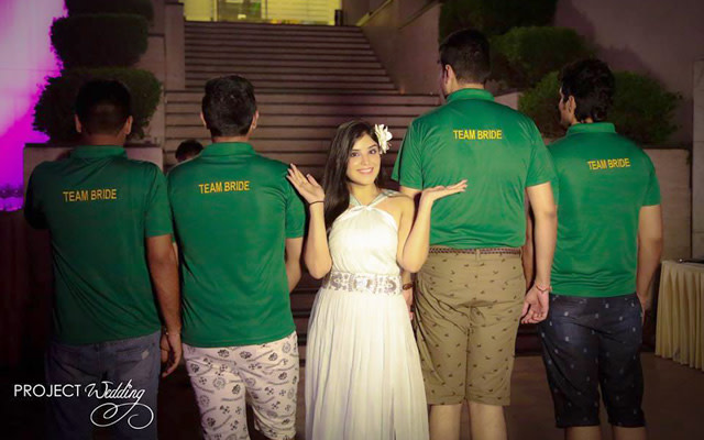 Bride and Friends of The Bride Pose by Project Wedding Wedding-photography | Weddings Photos & Ideas