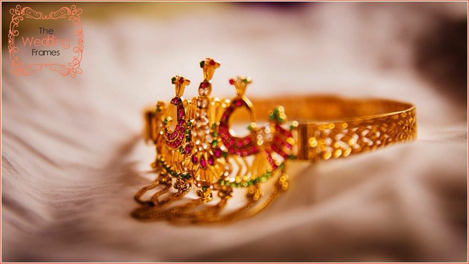 Gold and Gemstones Exquisite Bridal Bracelet by The Wedding Frames Wedding-photography | Weddings Photos & Ideas