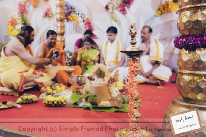 South Indian Wedding Captured With Wedding Paraphernalia in Focus by Simply Framed Photography Wedding-photography | Weddings Photos & Ideas