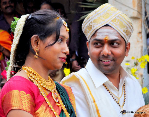 South Indian Bride and Groom During Their Wedding by Nikhil photography  Wedding-photography | Weddings Photos & Ideas