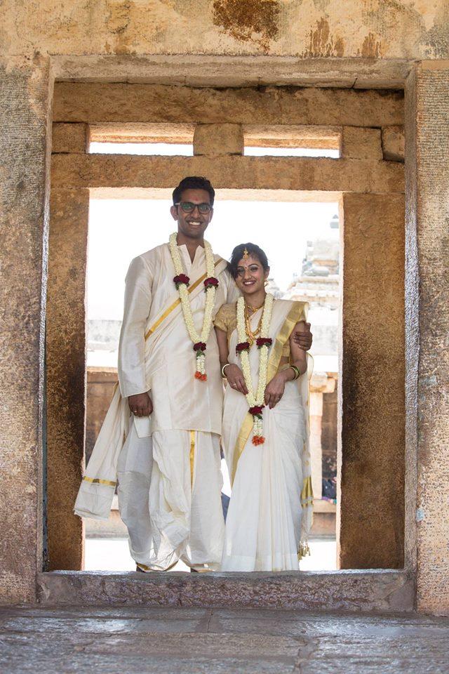 Simple Couple Portrait by Radha Photos Wedding-photography Groom-wear-and-accessories Wedding-dresses | Weddings Photos & Ideas
