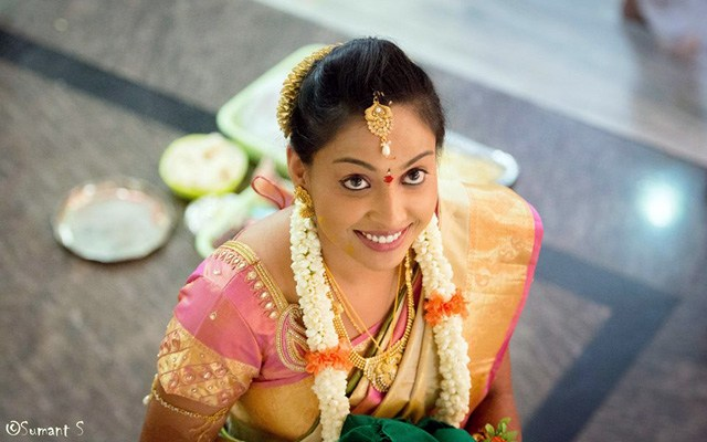 South Indian Bride Portrait by Sumant 's photography  Wedding-photography | Weddings Photos & Ideas