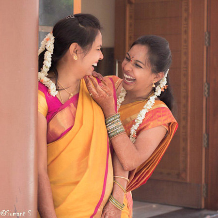 Bride and Friend of the Bride Shot by Sumant 's photography  Wedding-photography | Weddings Photos & Ideas