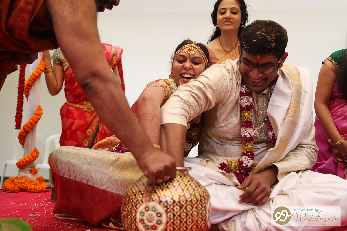 Fun during ceremonies by Great Indian Weddings Wedding-photography | Weddings Photos & Ideas