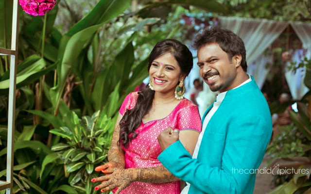 Happy Bride and Groom-To-Be by Kiran Kumar J Wedding-photography | Weddings Photos & Ideas