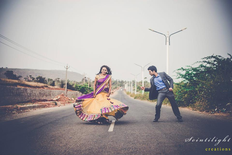Bride and Groom-To-Be Posing on Streets by Gracian Wedding-photography | Weddings Photos & Ideas
